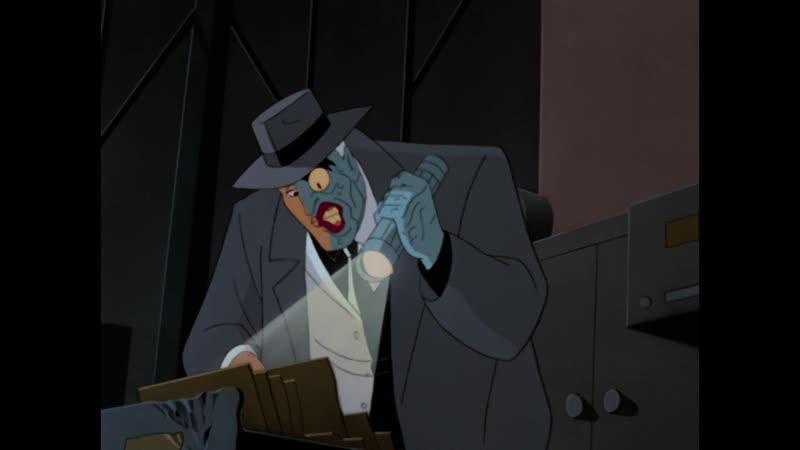 Сезон 01 Серия 18 Двуликий Часть II | Бэтмен (1992-1995) Batman The Animated Series | Two-Face Part II
