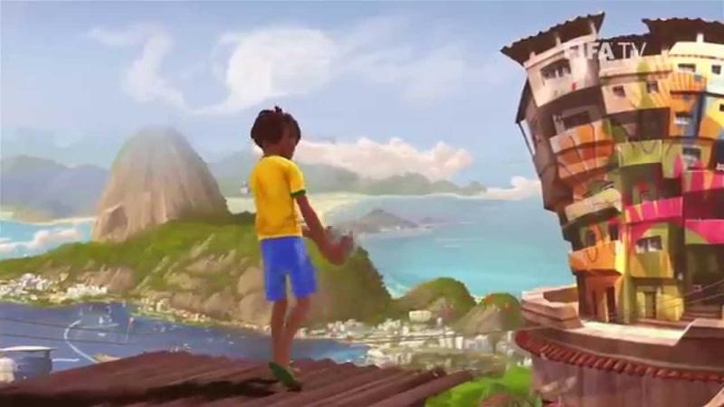 Abertura da copa do mundo 2014 FIFA World Cup™ no Brasil.