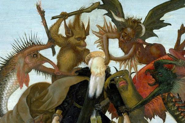 искушение святого антония микеланджело буонарроти 1488, 47×35 см картина специалистами музея метрополитен в 2008 году признана как самая ранняя работа