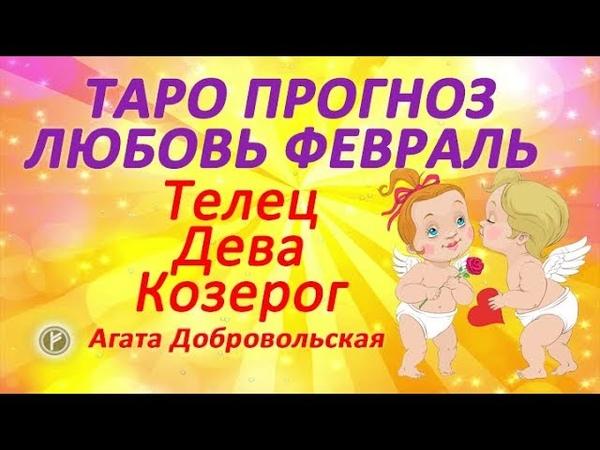Таро прогноз Любовь и отношения Февраль Телец козерог дева