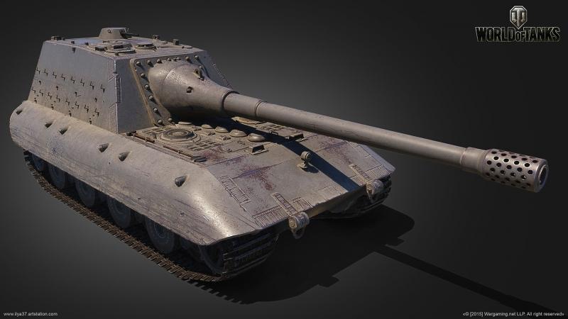 Jg.Pz. E 100 -1403 hp (WoT Blitz)