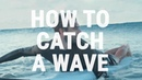 How to Catch an Unbroken Wave How Surfers Paddle into Green Waves