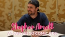 Stephen Amell discusses Arrow's final season at San Diego Comic Con
