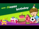 Theme 6. Happy Birthday - This is for you. Thanks. | ESL Song Story - Learning English for Kids