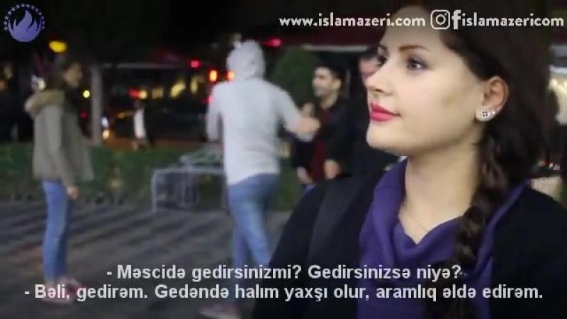 Məscidə gedirsinizmi - SORĞU