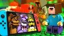 Лего НУБик и БОРЬКА 🎮 Nintendo SWITCH - LEGO Майнкрафт Мультики Все Серии Подряд Мультфильмы ИГРУШКИ