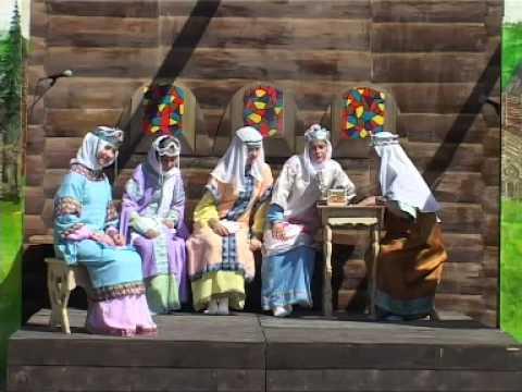 Фроловское. Постановка 2007 года: Мученицы Вера, Надежда, Любовь и мать их София.