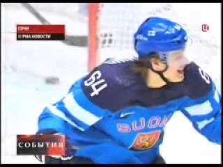 Хоккей Финляндия   Россия   3 1 Обзор Олимпиада Сочи 2014