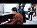 PIANO IMPROVISATION [Blues by Thomas Krüger] at Amsterdam Train Station - THOMAS KRÜGER
