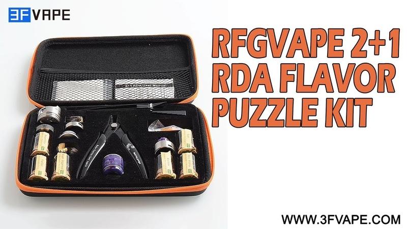 RFGVape 21 RDA Flavor Puzzle Kit