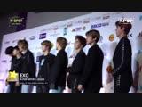 181028 EXO @ K-POP Channel TV: MBC Show Champion in Manila Red Carpet