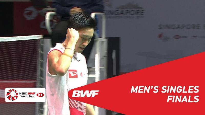 F | MS | Kento MOMOTA (JPN) [1] vs Anthony Sinisuka GINTING (INA) [7] | BWF 2019