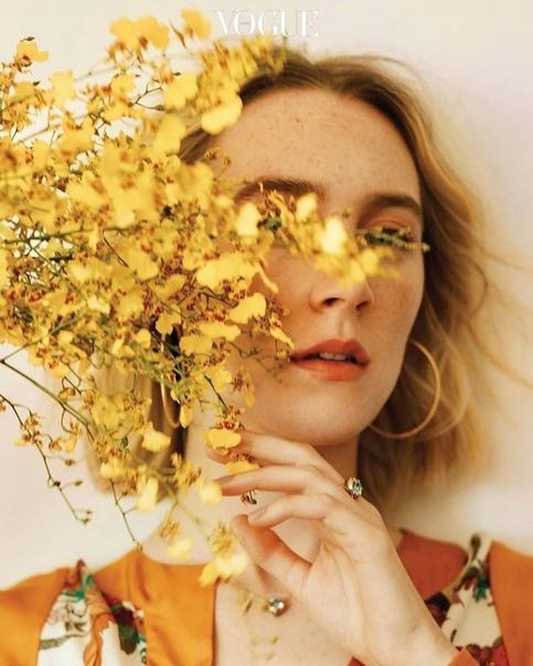 Saoirse Ronan for Vogue orea