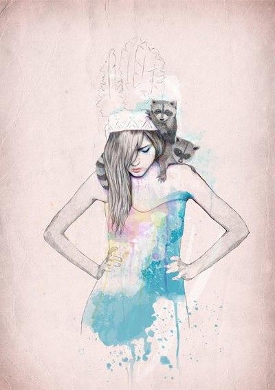 Иллюстратор Ariana Perez KBFwtEUl73M