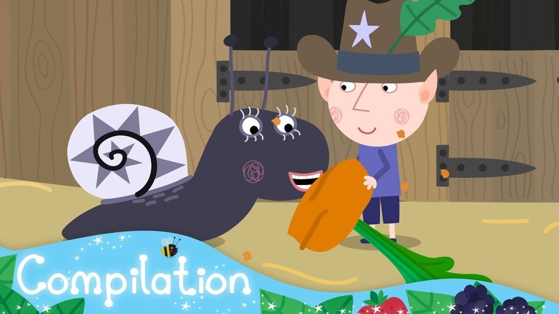Ben and Holly's Little Kingdom | Miss Jolly's Riding Club | Triple Episode 13