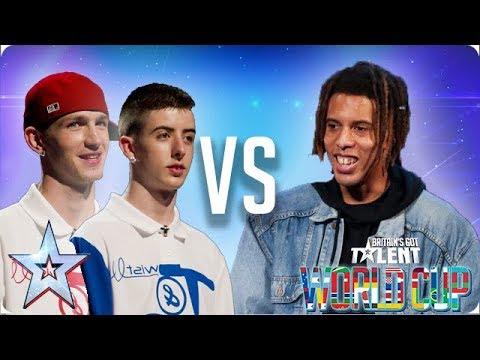Twist Pulse vs Tokio Myers | Britain's Got Talent World Cup 2018