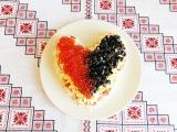 Салат с красной рыбой и рисом Моей Половинке Праздничный салат с икрой Салат Мої...
