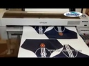 Sample Test 100gsm Semi sticky Sublimation Paper Printed by Epson F series Inkjet Printer