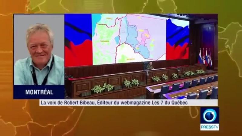 Robert Bibeau : Les USA subissent les décisions Russo-Iraniènne sur l'échiquier Syrien ! (1min51s)