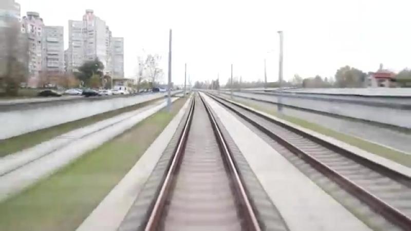 Скоростной трамвай - СТ-2 (Киев, Троещина) _ Kyiv Speed Tram.mp4