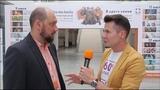 Интервью звезд на открытии 2ого международного кинофестиваля