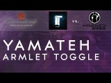 Amazing Armlet toggle by Titan.Yamateh vs. IG @ TI4 Group Stage