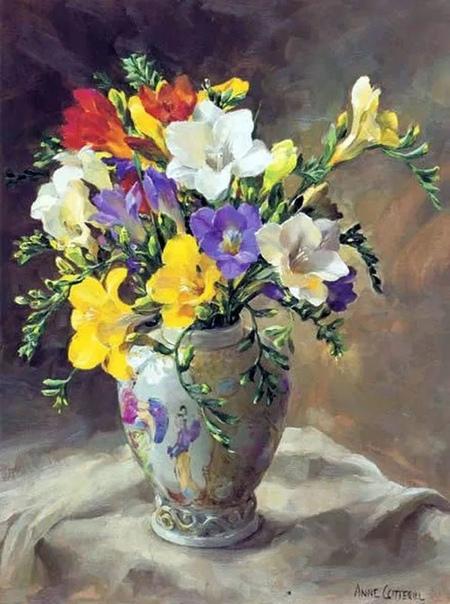 Известная Британская художница Энн Коттерилл (Anne Cotterill, 1933-2010