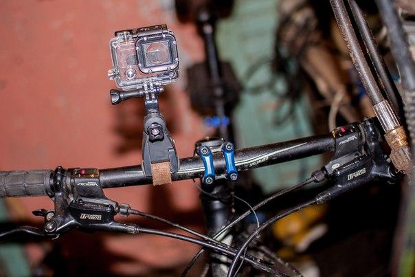 Держатели камеры своими руками на велосипед