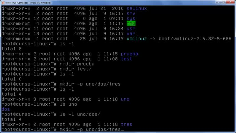 A Linux sin ventanas Lección 22
