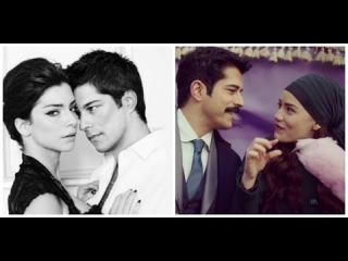 Burak Ozcivit with Fahriye Evcen VS Burak ozcivit with Merve Boluğur love scenes