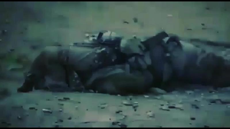 Момент смерти боевика ИГ в Ираке