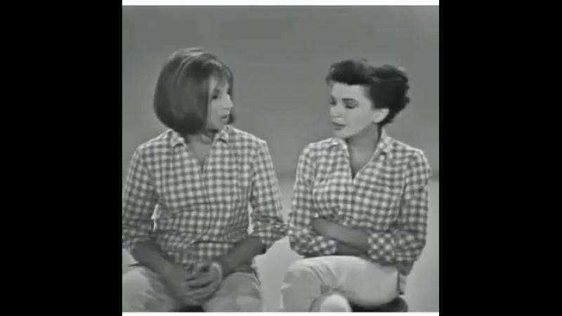 Barbra Streisand Judy Garland