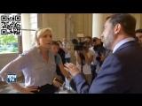 Affaire Benalla altercation entre Le Pen et Castaner