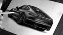 Как нарисовать ПОРШЕ 911 - PORSCHE 911 (992) / Рисунок автомобиля карандашами / ISP DRAWING