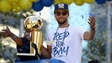 Steph Curry's Best Moments From the Warriors Championship Parade