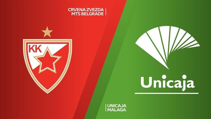 Crvena Zvezda mts Belgrade Unicaja Malaga Highlights 7DAYS EuroCup T16 Round 6