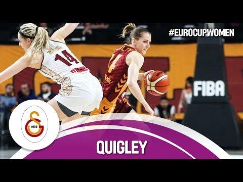 Alexandria Quigley with 37 Points vs. Reyer Venezia