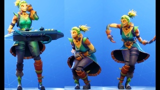NEW! STRAW OPS SKIN! With ALL NEW DANCE EMOTES (Showcase) Fortnite Battle Royale