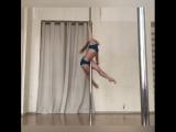 Наталья Томашова. Pole dance combo. Kats dance studio