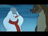 Новогодние мультфильмы .  Снеговик   почтовик