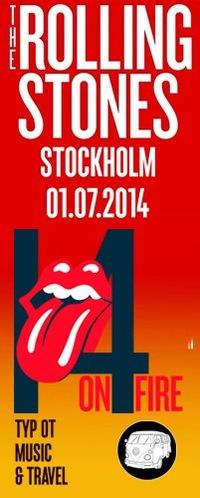The Rolling Stones - Стокгольм - 01.07.14 - M&T