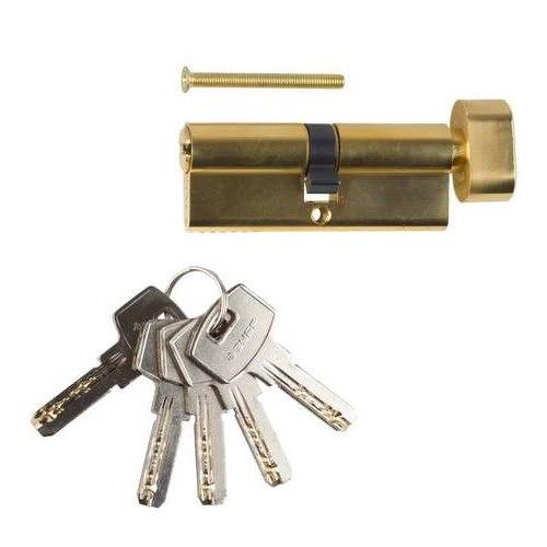"""Механизм """"ЭКСПЕРТ""""цилиндровый, повышенной защищенности, тип """"ключ-защелка"""", 6-PIN   ЗУБР"""