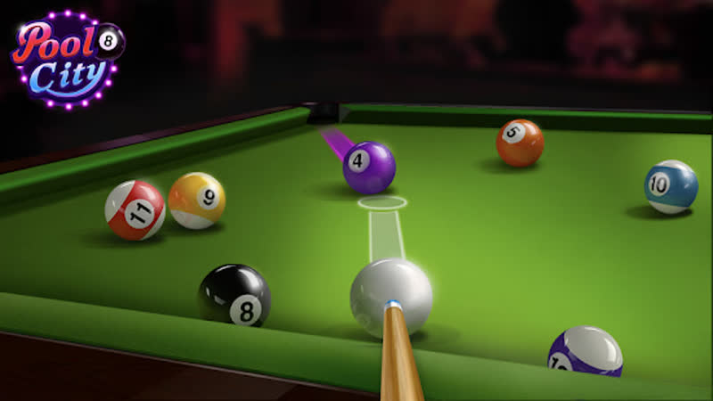 Поляковский Летсплей🐶 Pool City 8 - Billiards City🎱 2 (Катаем Шарики)
