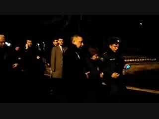 Беглов лично вывел последнего преподавателя из обрушившегося здания ИТМО