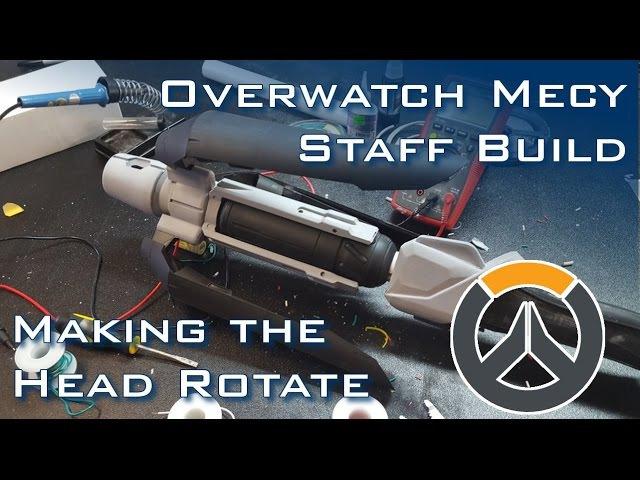 Rotating MERCY Staff - OVERWATCH Prop Build