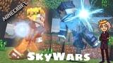 ПОБЕДА В КРОВИ! - (Minecraft Bedrock Edition) - SkyWars
