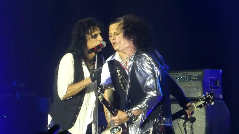 Heroes (Johnny Depp Vocals) Hollywood Vampires@Sands Bethlehem PA Center 5/21/18