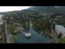 Красивое видео Абхазия Новый Афон видео с беспилотника