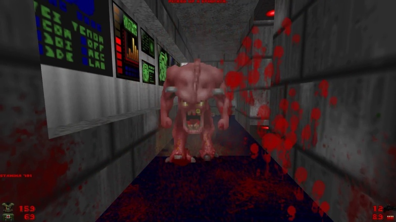 2002 A Doom Odyssey | E2M3 The Lost Labs [Brutal Doom Black Edition v3.1d]