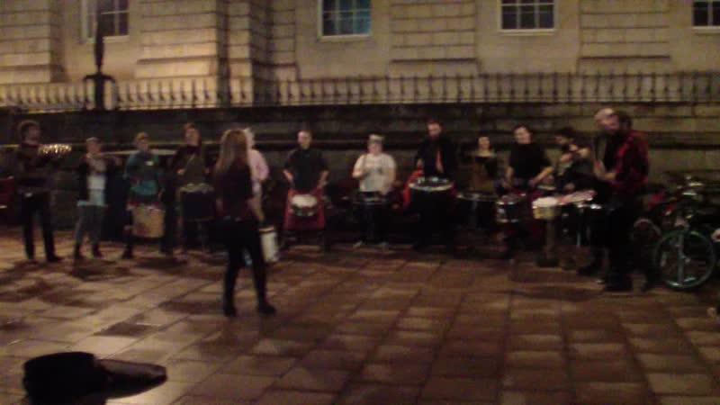 Барабанщики из Эдинбурга.